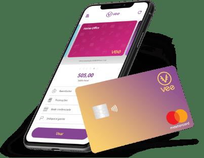 Aplicativo e cartão benefício flexível